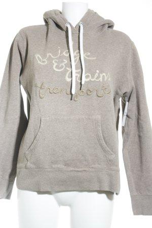 H&M L.O.G.G. Kapuzensweatshirt graubraun Casual-Look