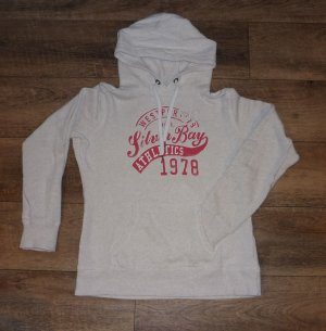 H&M L.O.G.G. Kapuzensweatshirt Pullover Hoodie rot Gr. L / 40