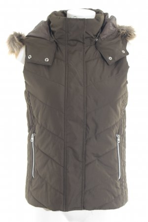 H&M L.O.G.G. Hooded Vest khaki casual look