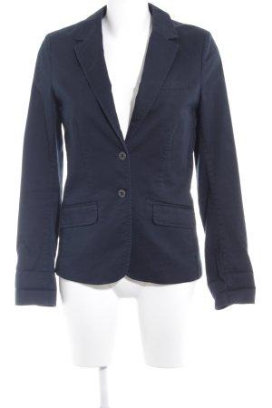 H&M L.O.G.G. Kurz-Blazer dunkelblau Casual-Look