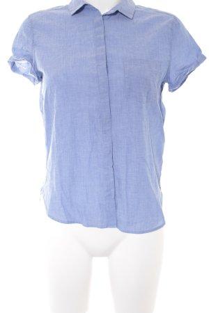 H&M L.O.G.G. Chemise à manches courtes bleu azur style décontracté