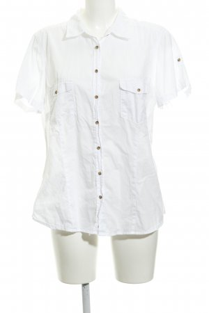 H&M L.O.G.G. Short Sleeve Shirt white casual look