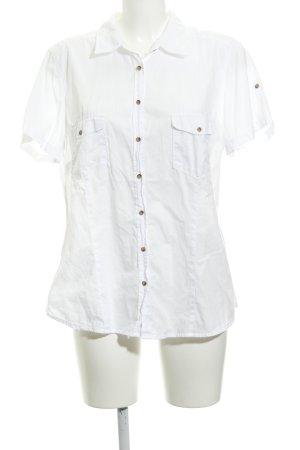 H&M L.O.G.G. Shirt met korte mouwen wit casual uitstraling