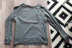 H&M L.O.G.G. L Sweat Sweater Sweatshirt Jumper Khaki