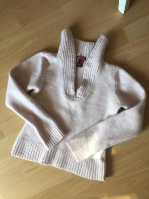 H&M L.O.G.G. Wool Sweater pink-light pink