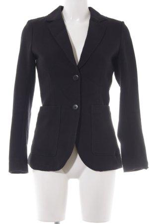 H&M L.O.G.G. Long-Blazer schwarz schlichter Stil