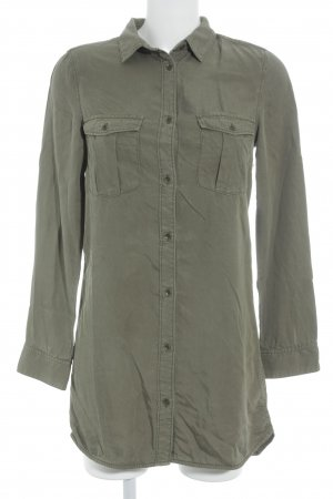 H&M L.O.G.G. Long-Bluse khaki Military-Look
