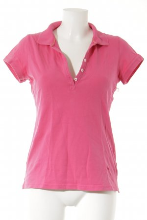 H&M L.O.G.G. Polo-Shirt magenta Casual-Look