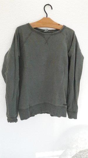 H&M L.O.G.G. Pulli Pullover Jumper Sweat Sweater Sweatshirt Khaki L