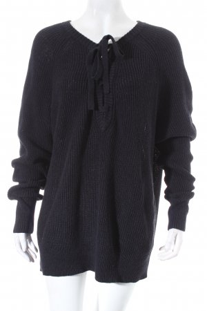 H&M L.O.G.G. Pullover schwarz Casual-Look