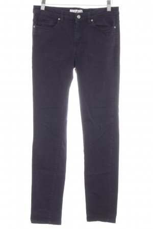 H&M L.O.G.G. Slim Jeans dunkelblau Casual-Look