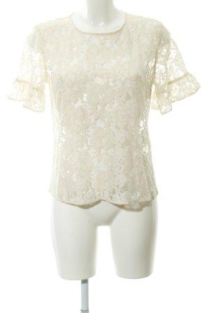 H&M L.O.G.G. Blusa in merletto crema elegante