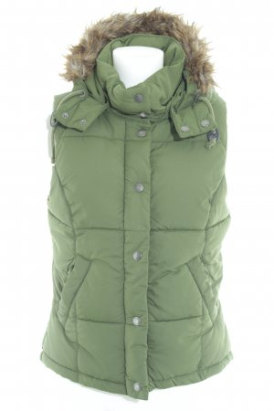 H&M L.O.G.G. Quilted Gilet khaki casual look