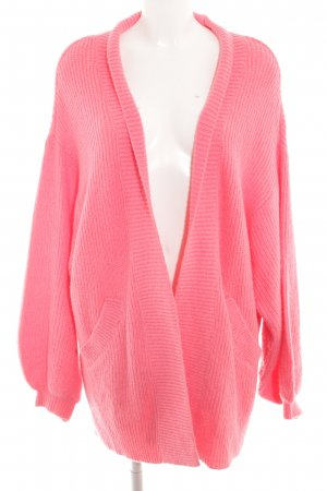 H&M L.O.G.G. Strick Cardigan rosa Casual-Look