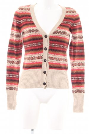 H&M L.O.G.G. Strickjacke grafisches Muster Casual-Look