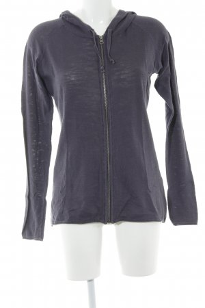H&M L.O.G.G. Strickjacke graublau Casual-Look
