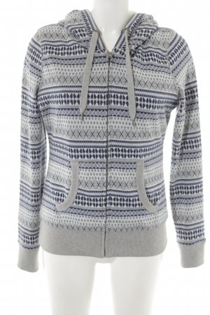 H&M L.O.G.G. Sweatjack abstract patroon casual uitstraling