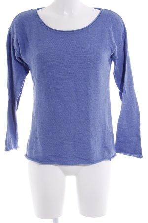 H&M L.O.G.G. Sweatshirt bleu acier style décontracté