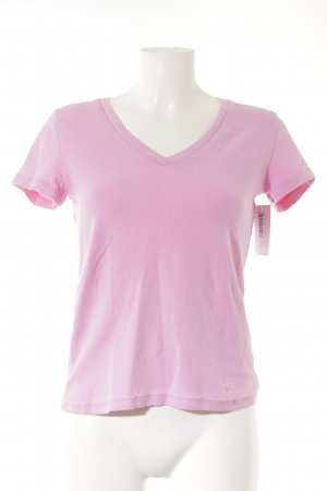 H&M L.O.G.G. T-Shirt rosa Casual-Look