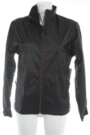 H&M L.O.G.G. Übergangsjacke schwarz sportlicher Stil