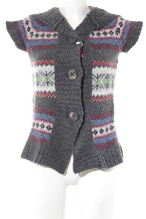 H&M L.O.G.G. Giacca di lana motivo astratto stile casual