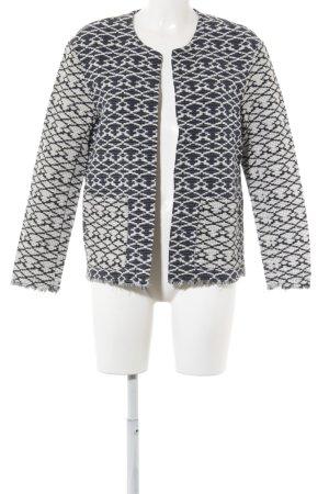 H&M L.O.G.G. Wolljacke abstraktes Muster extravaganter Stil