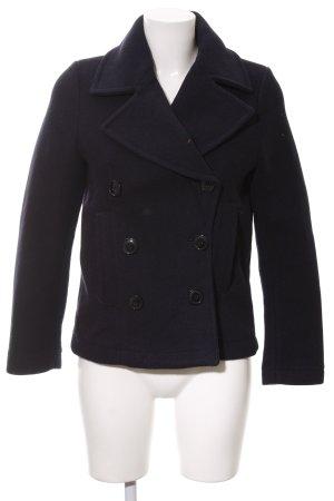 H&M L.O.G.G. Giacca di lana blu scuro stile casual