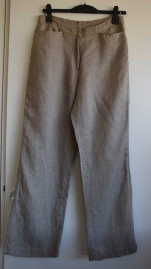 Hennes Pantalón de lino beige claro Lino