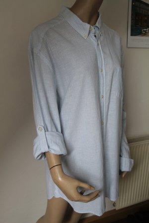 H&M lässiges Hemd Streifen gestreift Oversize Boyfriend Loose Fit