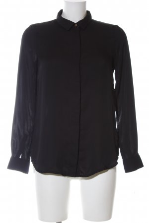 H&M Long Sleeve Blouse black business style