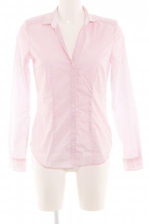 H&M Langarm-Bluse pink Business-Look