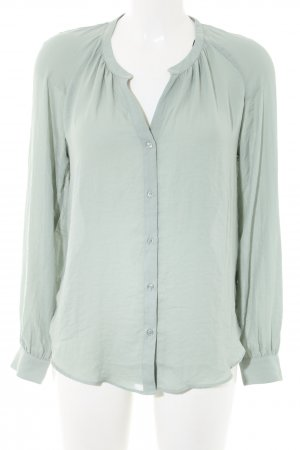 H&M Langarm-Bluse grün Business-Look