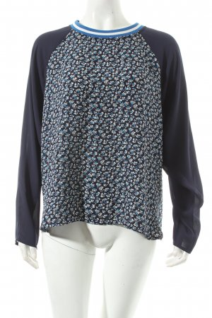 H&M Langarm-Bluse Blumenmuster Casual-Look