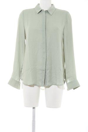 H&M Langarm-Bluse grün Elegant