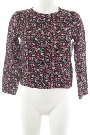 H&M Langarm-Bluse florales Muster Casual-Look