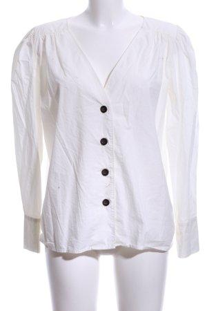 H&M Langarm-Bluse hellbeige Casual-Look