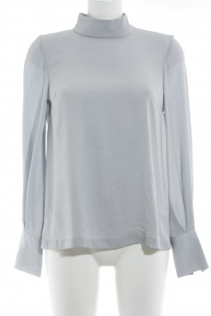 H&M Langarm-Bluse himmelblau Casual-Look