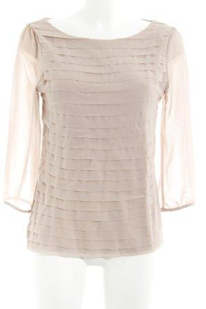 H&M Langarm-Bluse rosé Casual-Look