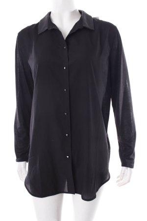 H&M Langarm-Bluse schwarz