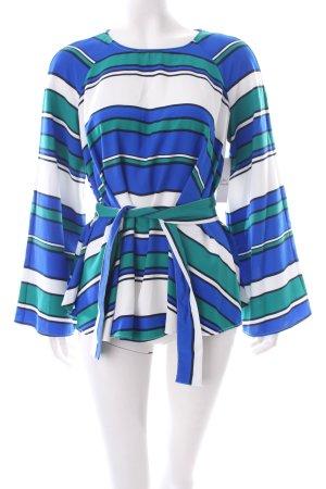 H&M Langarm-Bluse Streifenmuster 70ies-Stil