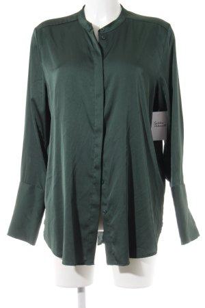 H&M Langarm-Bluse waldgrün Elegant