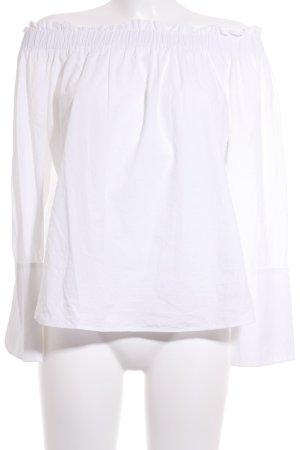 H&M Langarm-Bluse weiß Street-Fashion-Look
