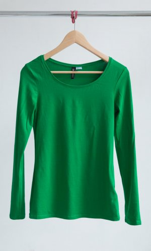 H&M Shirt grass green cotton