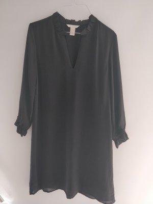 H&M Langarm Kleid mit transparenten Ärmeln