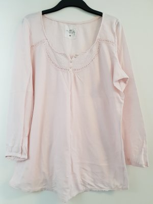 H&M langarm Shirt, rosa, Knopfleiste, Gr. XL