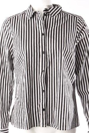 H&M Langarmbluse mit Streifen