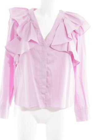 H&M Langarmhemd rosa Elegant