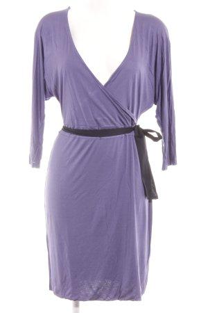 H&M Langarmkleid dunkelviolett-flieder Elegant