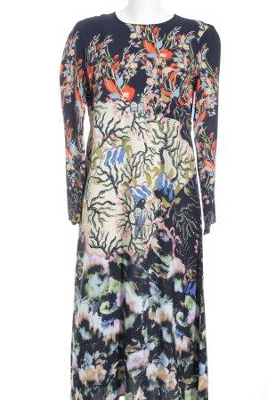 H&M Langarmkleid florales Muster Country-Look