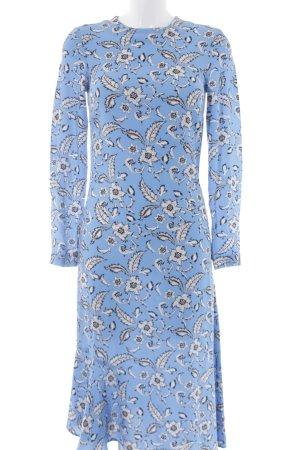 H&M Langarmkleid florales Muster extravaganter Stil